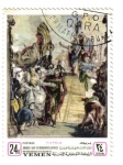 Stamps Yemen -  Tiepolo: Unesco promonumentos venecianos
