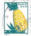 Stamps Brazil -  ABACAXI
