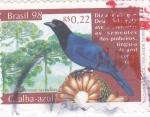 Stamps Brazil -  GRULLA-AZUL