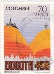 Sellos de America - Colombia -  BOGOTA 45O AÑOS