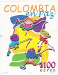 Stamps Colombia -  COLOMBIA EN PAZ
