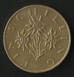 monedas de Europa - Austria -  MONEDA REPUBLIK OSTERREICH ( POSTERIOR)