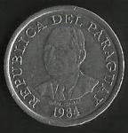 monedas de America - Paraguay -  MONEDA PARAGUAY - ALIMENTOS PARA EL MUNDO (POSTERIOR)