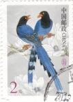 Stamps China -  PÁJAROS