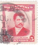 Stamps : Asia : Philippines :  MARCELO H.DEL PILAR