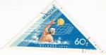 Stamps Hungary -  BELGRADO- 1973 WATERPOLO
