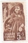 Sellos de Africa - Marruecos -  PRO-INFANCIA  SAHARA ESPAÑOL