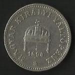 monedas de Europa - Hungría -  MONEDA DE HUNGRIA - MAGYAR KIRALYI VALTOPENZ (POSTERIOR)