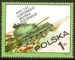 Sellos de Europa - Polonia -  30a Aniv del Ejército Popular de Polonia.