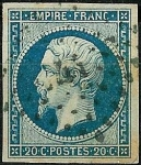 Stamps Europe - France -  Napoléon III