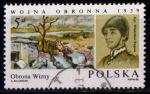 Sellos del Mundo : Europa : Polonia : 45º aniv. guerra defensiva contra el invasor