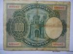 monedas de Europa - España -  El Banco de España- Mil Pesetas-1925