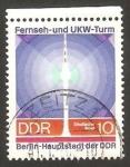 Stamps Germany -  1203 - Torre de televisión de Berlin