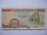 monedas de Africa - Ghana -  Bank of Ghana- Two Thousand Cedis.