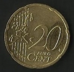 monedas de Europa - Alemania -  MONEDA ALEMANIA - EURO CENT (FRONTAL)