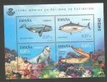 Stamps Europe - Spain -  Fauna marina en peligro de extinción