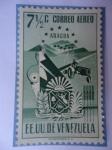 Stamps Venezuela -  E.E.U.U de Venezuela- Estado: Aragua- Escudo