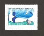 Stamps Italy -  Campeonatos mundiales de pesca deportiva