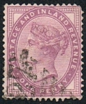 Stamps : Europe : United_Kingdom :  POSTAGE AND INLAND REVENUE