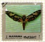 Stamps Asia - Qatar -  MANAMA. Dependencia de Ajman