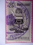Stamps Venezuela -  E.E.U.U de Venezuela- Estado: Nueva Esparta- Escudo