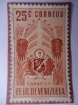 Sellos de America - Venezuela -  E.E.U.U de Venezuela- Estado: Yaracuy- Escudo