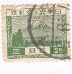 Sellos de Asia - Japón -  MONTAÑA NEVADA