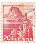 Stamps Switzerland -  LAGO DE SUIZA