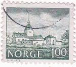 Sellos de Europa - Noruega -  EDIFICACIÓN