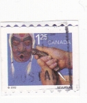 Sellos de America - Canadá -  ESCULTURA