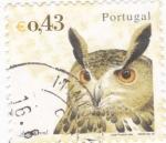 Sellos de Europa - Portugal -  BUHO REAL