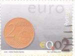 Sellos de Europa - Portugal -  MONEDA DE € 0,02