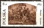 Sellos de Europa - Polonia -  120 aniversario de la sublevación de enero.
