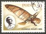 Sellos de Europa - Polonia -  2378 - Cz. Tanski primer vuelo en 1896