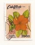 Stamps Cape Verde -  Rosa