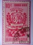 Stamps Venezuela -  E.E.U.U de Venezuela- Estado: Tachira- Escudo