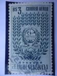 Stamps Venezuela -  E.E.U.U de Venezuela- Estado: Trujillo- Escudo
