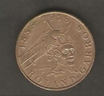 monedas de Europa - Francia -  Roland Garros