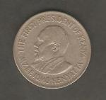 monedas de Africa - Kenya -  Jomo Kenyatta, primer presidente de Kenya
