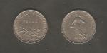 monedas de Europa - Francia -  Sembradora