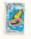 Sellos de Africa - Camerún -  Papaya