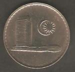 monedas de Asia - Malasia -  Edificio