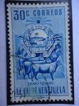 Sellos de America - Venezuela -  E.E.U.U de Venezuela- Estado: Cojedes- Escudo