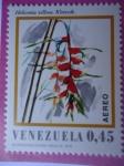 Stamps Venezuela -  Heliconia villosa. Klotzsch.