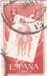 Stamps Spain -  Pro infancia húngara    (1)