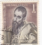 Sellos de Europa - España -  XIX centenario de la venida de San Pablo a España   (1
