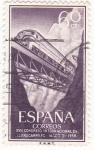 Sellos de Europa - España -  XVII Congreso Internacional de Ferrocarriles  (1) .