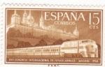 Stamps Spain -  XVII Congreso Internacional de Ferrocarriles  (1).