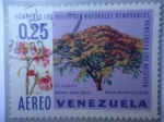 Stamps Venezuela -  Conserve los Recursos Naturales Renovables,Venezuela los necesita-¨El Samán¨Merrill Mimosaceae.