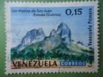 Stamps Venezuela -  Los Morros de San Juan- Paisaje Tropical - Estado Guárico- Conozca a Venazuela Primero